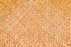 Ταϊλανδικό handcraft της ύφανσης μπαμπού Στοκ φωτογραφία με δικαίωμα ελεύθερης χρήσης