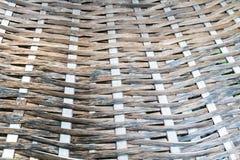 Ταϊλανδικό handcraft του σχεδίου ύφανσης μπαμπού Στοκ Φωτογραφίες