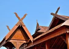 Ταϊλανδικό lanna στεγών Στοκ Εικόνες