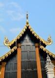 Ταϊλανδικό lanna στεγών Στοκ φωτογραφία με δικαίωμα ελεύθερης χρήσης