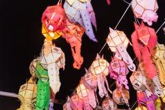 Ταϊλανδικό lanna φαναριών Στοκ Φωτογραφίες