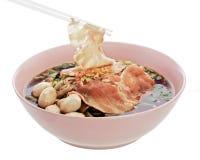 Ταϊλανδικό noodle Στοκ Εικόνες
