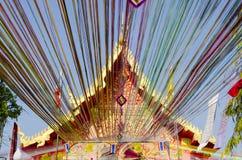 ταϊλανδικό wat εκκλησιών Στοκ φωτογραφίες με δικαίωμα ελεύθερης χρήσης