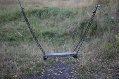Ταλάντευση αλυσίδων Στοκ εικόνα με δικαίωμα ελεύθερης χρήσης