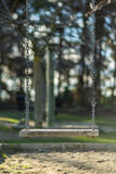 Ταλάντευση αλυσίδων Στοκ φωτογραφία με δικαίωμα ελεύθερης χρήσης