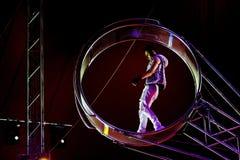 Ταλάντευση Artiste ένα τσίρκο Στοκ φωτογραφίες με δικαίωμα ελεύθερης χρήσης
