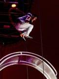 Ταλάντευση Artiste ένα τσίρκο Στοκ φωτογραφία με δικαίωμα ελεύθερης χρήσης