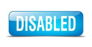 Τα άτομα με ειδικές ανάγκες κουμπώνουν διανυσματική απεικόνιση