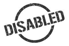 τα άτομα με ειδικές ανάγκες σφραγίζουν ελεύθερη απεικόνιση δικαιώματος