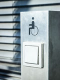 Τα άτομα με ειδικές ανάγκες υπογράφουν Στοκ Εικόνες