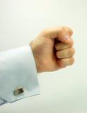 τα άτομα χεριών τρυπούν με δ Στοκ Φωτογραφίες