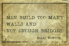 Τα άτομα χτίζουν Newton Στοκ φωτογραφία με δικαίωμα ελεύθερης χρήσης