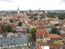 Ταλίν παλαιά πόλη Στοκ Εικόνα