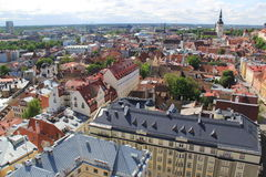 Ταλίν, capitel της Εσθονίας, ywar το 2014 Στοκ Φωτογραφίες