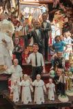 Τα αγάλματα του παχνιού στο SAN Gregorio Armeno Στοκ φωτογραφία με δικαίωμα ελεύθερης χρήσης