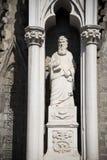 Τα αγάλματα εκκλησιών Στοκ εικόνα με δικαίωμα ελεύθερης χρήσης