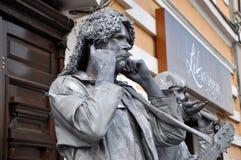 Τα αγάλματα διαβίωσης Beeldje ο κόσμος υπερασπίζονται των αγαλμάτων διαβίωσης Στοκ φωτογραφίες με δικαίωμα ελεύθερης χρήσης