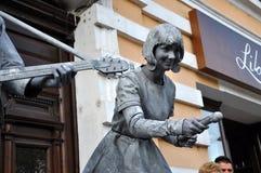 Τα αγάλματα διαβίωσης Beeldje ο κόσμος υπερασπίζονται των αγαλμάτων διαβίωσης Στοκ Φωτογραφίες