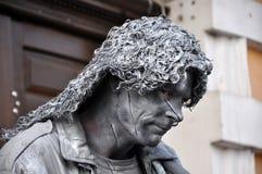 Τα αγάλματα διαβίωσης Beeldje ο κόσμος υπερασπίζονται των αγαλμάτων διαβίωσης Στοκ Εικόνα