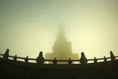 Τα αγάλματα του Βούδα Στοκ φωτογραφία με δικαίωμα ελεύθερης χρήσης