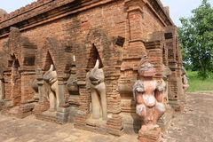 Τα αγάλματα των παλαιών ναών (stupa) σε Bagan, το Μιανμάρ Στοκ φωτογραφία με δικαίωμα ελεύθερης χρήσης