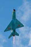 Τα αεροσκάφη που αποδίδουν στο ρουμανικό αέρα παρουσιάζουν Στοκ εικόνα με δικαίωμα ελεύθερης χρήσης