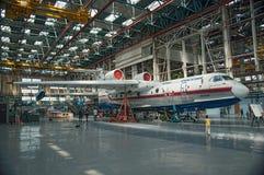 Τα αεροσκάφη στο στάδιο της κατασκευής Στοκ Εικόνες