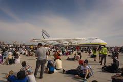 Τα αεροσκάφη φορτίου Antonov στον αέρα Euroasia παρουσιάζουν γεγονός Στοκ Εικόνες