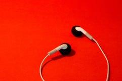 Τα ακουστικά Στοκ φωτογραφία με δικαίωμα ελεύθερης χρήσης