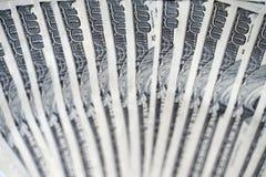 τα αμερικανικά χρήματα δο&l στοκ φωτογραφία