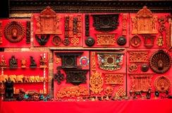 Τα αναμνηστικά πωλούν επάνω σε Bhaktapur, Νεπάλ Στοκ φωτογραφίες με δικαίωμα ελεύθερης χρήσης