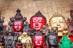 Τα αναμνηστικά πωλούν επάνω σε Bhaktapur, Νεπάλ Στοκ Εικόνα