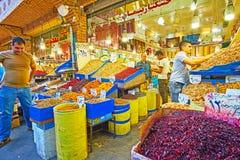 Τα ανατολικά πρόχειρα φαγητά στην Τεχεράνη Στοκ εικόνες με δικαίωμα ελεύθερης χρήσης