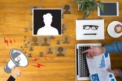 Τα ανθρώπινα δυναμικά των ΠΟΡΩΝ παίρνουν συνέντευξη από την εργασία στρατολόγησης στοκ εικόνες με δικαίωμα ελεύθερης χρήσης