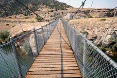 Ταλαντεμένος γέφυρα στοκ εικόνες