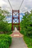 Ταλαντεμένος γέφυρα Androscoggin - Μαίην Στοκ φωτογραφία με δικαίωμα ελεύθερης χρήσης