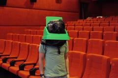 Τα απορρίματα μπορούν να επανδρώσουν τον κινηματογράφο Στοκ Εικόνες