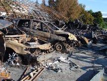 Τα αποτελέσματα της πυρκαγιάς Στοκ εικόνες με δικαίωμα ελεύθερης χρήσης