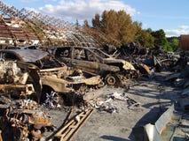 Τα αποτελέσματα της πυρκαγιάς Στοκ εικόνα με δικαίωμα ελεύθερης χρήσης