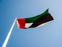 τα αραβικά εμιράτα σημαιοστολίζουν ενωμένο Στοκ εικόνα με δικαίωμα ελεύθερης χρήσης