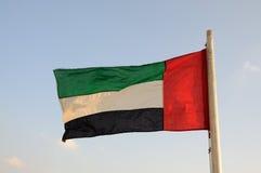 τα αραβικά εμιράτα σημαιο& Στοκ Φωτογραφίες
