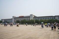 Τα ασιατικά κινέζικα, Πεκίνο, Εθνικό Μουσείο της Κίνας Στοκ Φωτογραφίες