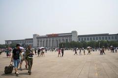 Τα ασιατικά κινέζικα, Πεκίνο, Εθνικό Μουσείο της Κίνας Στοκ εικόνα με δικαίωμα ελεύθερης χρήσης
