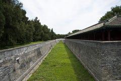 Τα ασιατικά κινέζικα, Πεκίνο, πάρκο Tiantan, παλάτι της αποχής zhaigong στοκ εικόνες με δικαίωμα ελεύθερης χρήσης