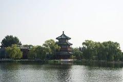 Τα ασιατικά κινέζικα, Πεκίνο, παλαιά κτήρια, hailou WANG Στοκ φωτογραφία με δικαίωμα ελεύθερης χρήσης