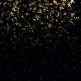Τα αστέρια επάνω το μαγικό αφηρημένο υπόβαθρο θαμπάδων 10 eps διανυσματική απεικόνιση