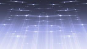 Τα αστέρια μορίων με το ελαφρύ υπόβαθρο ακτίνων περιτυλίχτηκαν απεικόνιση αποθεμάτων