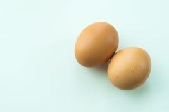 τα αυγά ανασκόπησης απομόν Στοκ Εικόνα