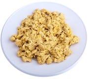 τα αυγά απομόνωσαν ανακατ Στοκ Εικόνες