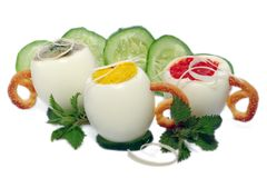 τα αυγά απομόνωσαν γεμισμ στοκ φωτογραφίες με δικαίωμα ελεύθερης χρήσης